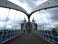 Bridge leading to Lowry Centre