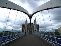 Bridge leading to Lowry Centre