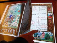 Page  turning virtual book at British Library