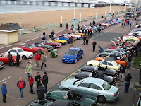 Brighton waterfront collection of MGs