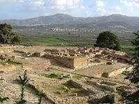Minoan palace at Faistos