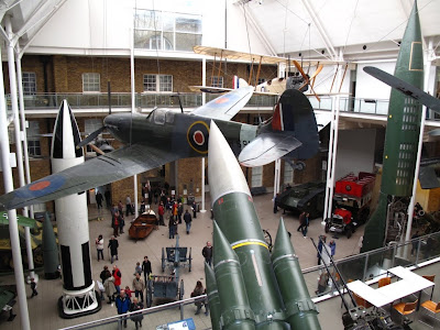 Ground floor of Imperial War Museum