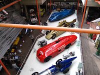 Beaulieu Motor Museum as seen from the monorail