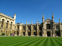 Corpus Christi College quadrangle