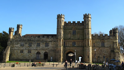 Battle Abbey, built by William the Conqueror