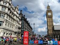 Running past Big Ben