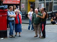 Fringe street scene
