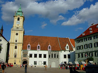 Bratislava town square