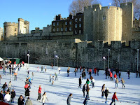 Skating rink in the moat