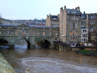 Pulteney Bridge and the Avon in flood
