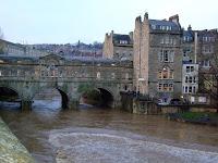 Pulteney Bridge and the Avon in flood