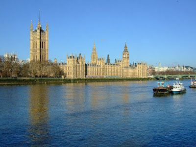 Houses of Parliament across the Thames