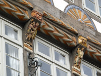 Building detail, Hameln