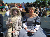 Miss Haversham and companion