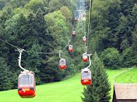 Cablecar gondolas