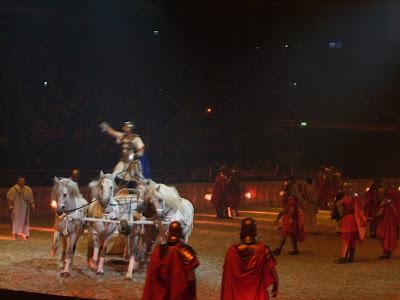 Ben Hur Live chariot race