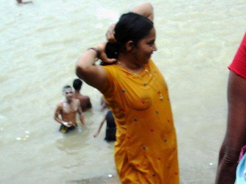 Desi Girls in Wet Dress