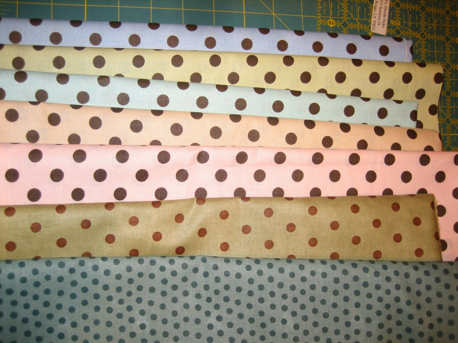 Quilts And Dogs Yardage Count