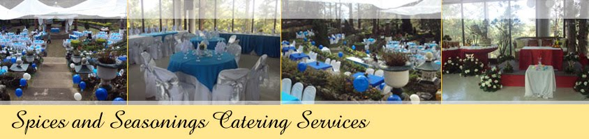 Spices and Seasonings Catering Services - Wedding Caterer in Baguio City
