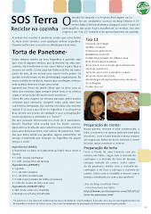 Meu artigo e receita foram publicados no Jornal Ágora (de Portugal), página SOS Terra