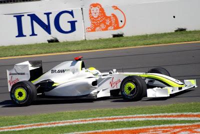 """MARCAR: """"Brawn GP presenta su monoplaza para la próxima temporada junto a Mathias y Cesar"""" Brawn+gp"""