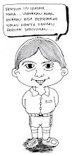 Aji Semut Caricature
