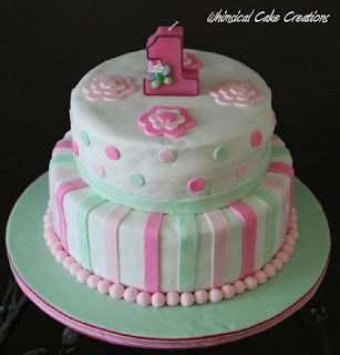 This is the 1st cake I ever sold. I made it for a little girl who was ...