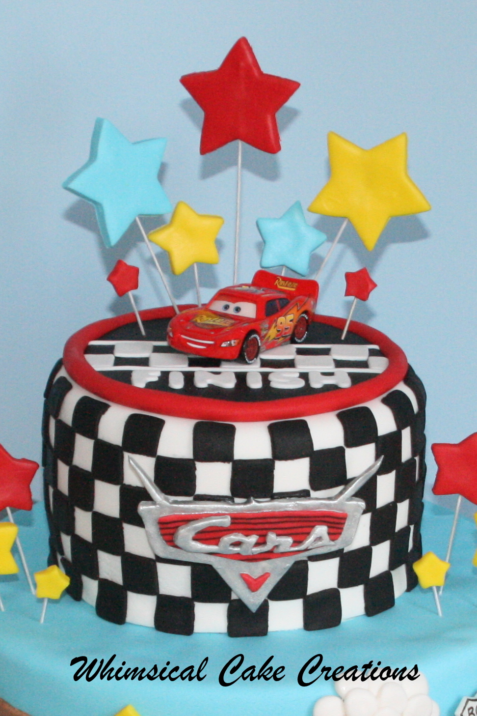 WhimsicalCreations.ca: Disney Cars Cake Featuring ...
