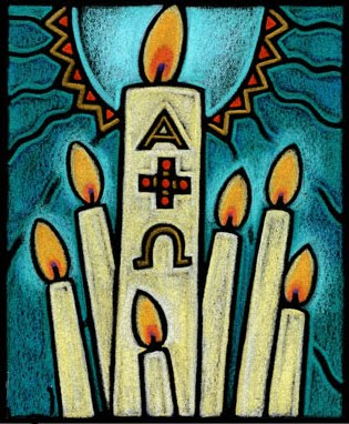 Image result for easter vigil clip art