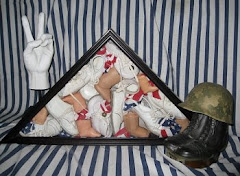 War Babies Assemblage Installation