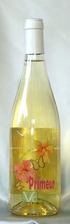 ヴァン・ヌーヴォー ヴァン・ド・ペイ・デュ・ガール ブラン ヴィニュロン・ド・カルナス 2007 ボトル ラベル