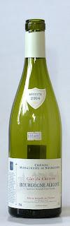 シャトー マルグリット ド ブルゴーニュ アリゴテ 2004 ボトル ラベル