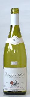 ドメーヌ アンリ・ノーダン・フェラン ブルゴーニュ アリゴテ 2003 ボトル ラベル