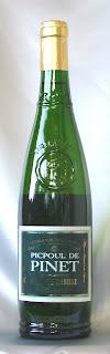 ピクプール・ドゥ・ピネ コトー・デュ・ラングドック 2003 ボトル ラベル
