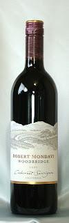 ロバート・モンダヴィ ウッドブリッジ カベルネ・ソーヴィニヨン 2005 ボトル ラベル