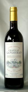 シャトー・ランゴワラン プルミエ・コート・ド・ボルドーAC 2004 ボトル ラベル