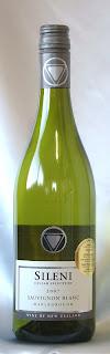 シレーニ セラーセレクション ソーヴィニヨン・ブラン マールボロ 2007 ボトル ラベル