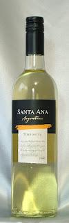 サンタ・アナ・トロンテス 2006 ボトル ラベル
