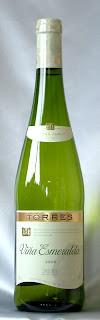 トーレス ヴィニャ エスメラルダ 2006 ボトル ラベル