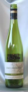イーグルホーク リースリング 2005 ボトル ラベル(汚損)