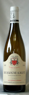 ジャンテ・パンショ ブルゴーニュ アリゴテ 2002 ボトル ラベル