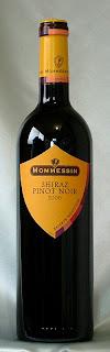 モメサン シラー/ピノ・ノワール 2006 ボトル ラベル