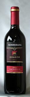 ベルベラーナ ドラゴン テンプラニーリョ 2005 ボトル ラベル