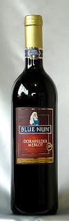 ブルーナン ドルンフェンダー、メルロー Q.b.A. 2005 ボトル ラベル