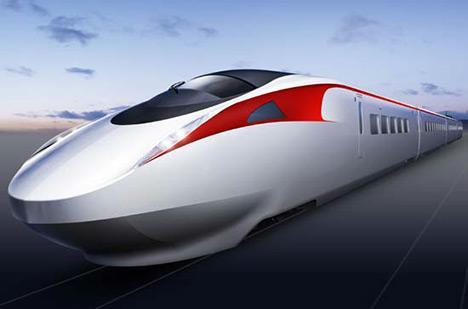 Alat transportasi darat kereta modern