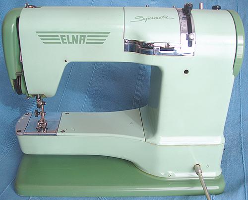 MUSEO DE MAQUINAS DE COSER Y COSTURA: ELNA máquinas de coser