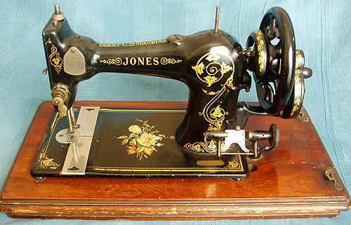 MUSEO DE MAQUINAS DE COSER Y COSTURA: JONES máquinas de coser