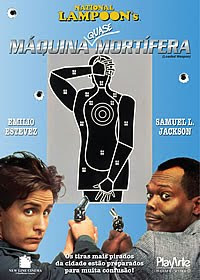 Filme Poster Máquina Quase Mortífera DVDRip RMVB Dublado
