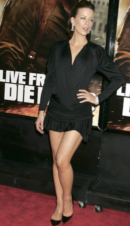 Kate Beckinsale, Die Hard 4.0 New York Premiere, Photo 13