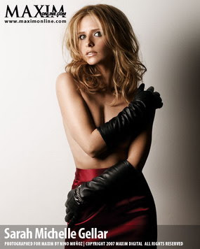 Sarah Michelle Gellar, Maxim Woman of the Year 2007, Photo 02